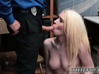 Cop strip down and police tease first time Attempted