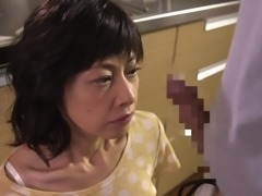 Mature Rumi Mochizuki knows how to handle a hard cock