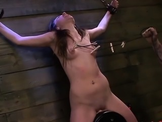 Rough sex treatment for gorgeos playgirl with giant tits