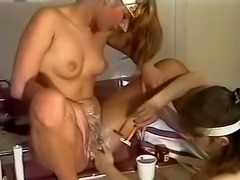 Marvelous and wicked white sluts finger and shave each other