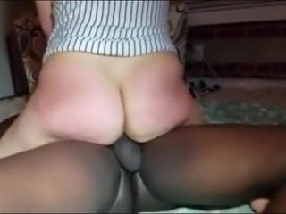 My Big Ass cumming on a big black cock