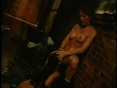 Nice ass Lesbian Heather Hunter spreading legs having her pussy licked