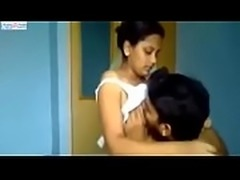 Girlfriend making out his bf in his home visit -chats69.com for more