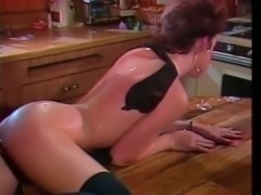 Incredible and leand redhead Swedish woman loves big dick