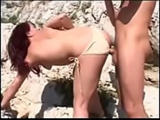 HOT GIRL n120  anal redhead bitch on the beach - SlutCams.xyz
