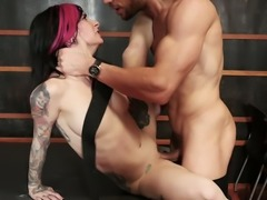 Joanna Angel can give oral sex while being blindfolded and she loves kinky sex