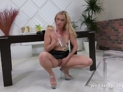 Brittany Bardot has an ass to die for and this slut is really into pissing