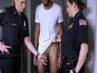 Lucky milf Don't be ebony and suspicious around Black Patrol cops