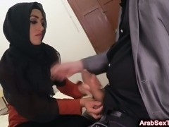 Arab couple does the dirty on the D/L