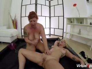 chubby lesbian nuru massage with Lucia Fernandez