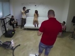 Jota Dee with nice ass smashed hardcore in backstage shoot