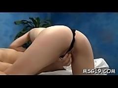 Deep wet crack massage for hottie