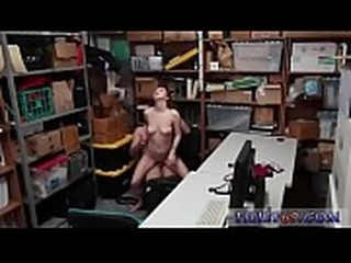 Male cop arrest girl Suspect tries to walk out of backroom and is