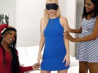 Lesbian Action with Aaliyah Love, Mya Mays and Yara Skye
