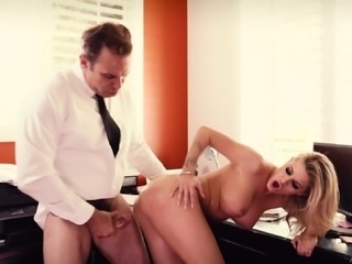 Jessa Rhodes is a cock craving secretary ready for a boss' dick
