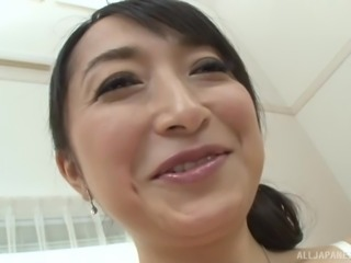 Takita moaning out of pleasure while her pussy is fingered