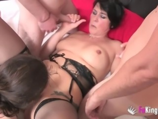 Magnificent orgy with cock-famished Yvettte and Jordi El Nino Polla