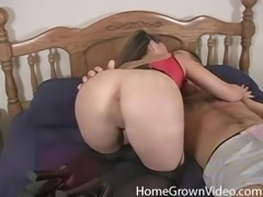 Chick in lingerie fucked well before being covered in semen