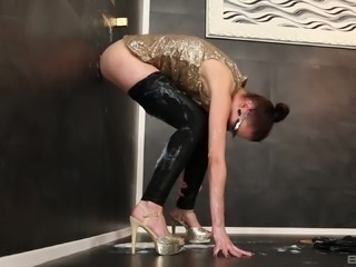 More slime is all that Chelsy Sun wants filling her asshole
