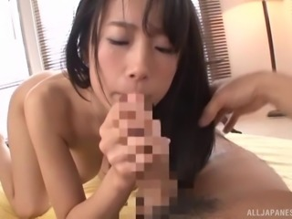 Nagase Asami is a hot woman craving to suck on a big dick
