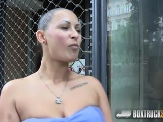 Hot Lia E Enjoys an Erotic Sex Massage in Public