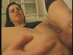 This wickedly nasty doctor gets laid a lot and she is super nasty