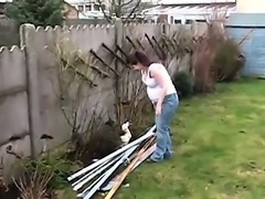 horny amateur preggo in homevideo