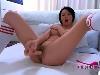 French Girl Masturbating &hearts_ KinkiCam.com &hearts_