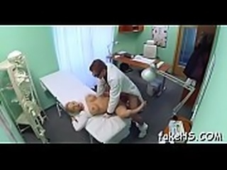 Fake hospital hosts a breathtaking fuck