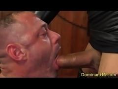 Busty ebony TS assfucking muscular jock