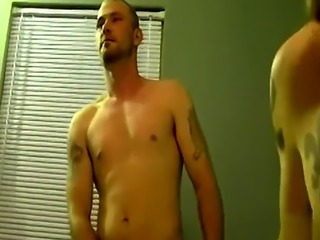 Amateur straight guys together gay porn The dude really gets into it