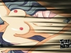 Some really terrific FFFM foursome with incredibly busty hentai babes