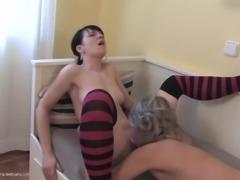 Nikita G craves to feel Cherry's pulsating rosy clitoris