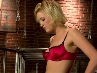 Kimberly Kane invites her hot lesbian friends to her dungeon