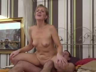 Glynis always preyed upon much younger men. She is insatiable mature lady and needs lots of sex. She loves men with big cocks who are willing to pound her tight pussy and ass like possessed. So what are you waiting for? Get in here and slam that pussy hard!