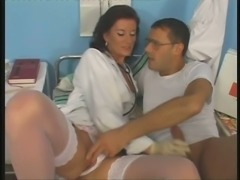 Hot doctor comes to see her patient and the exam turns into a hot sex session