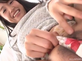 Nagase Asami's cunt shaved and ravished by a fellow