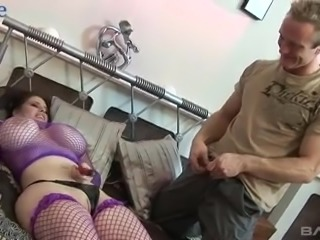 Insatiable Daphne Rosen plays with dildo during hot pussy pounding