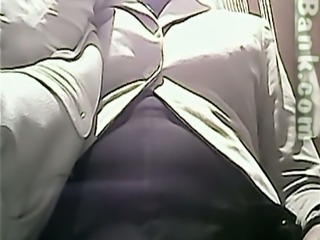 Hidden cam in the public ladies room catches some pussy
