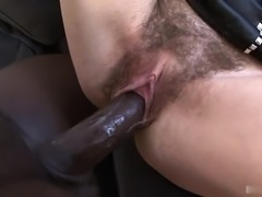 Ashley Woods is a European brunette with a hot slim body and one of the...