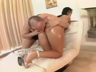Hard Cock Fills Her Beautiful Ass