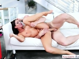 Randy babe August Ames is hot like a goddess and she's built for fucking