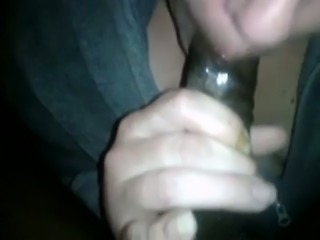 My black friend gets a steamy blowjob from a perverted blond head