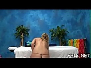 Oil massage porn