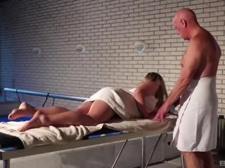 Mature man's cock is all cute babe Daniella Margot wants to feel