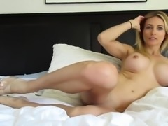 Shyla Jennings masturbation with sex toys vegetables