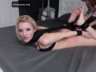 College girl tied up and fuckedk amazing