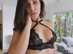 Abella Danger toying her anal then screwed hardcore
