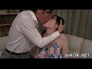 Finger fucking oriental wench mom