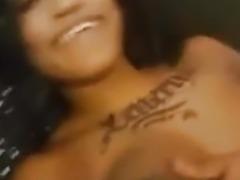Light skin Ebony uk having orgasm with my white boy